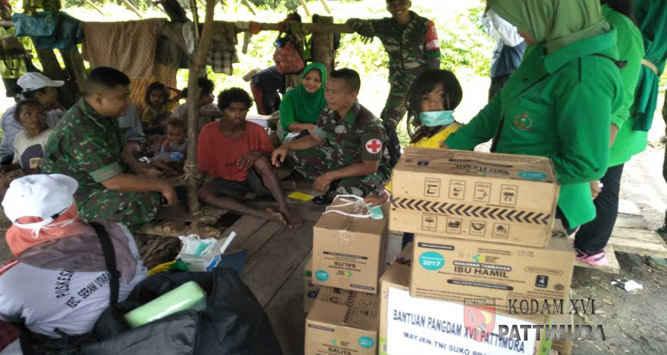 Kadis Sosial Maluku, Sartono Pinning, membantah tiga suku terasing yang meninggal di pedalaman hutan Seram, Gunung Morkele, Kabupaten Maluku Tengah beberapa hari lalu, bukan karena terserang busung lapar.